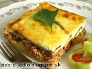 Grécka musaka - recept