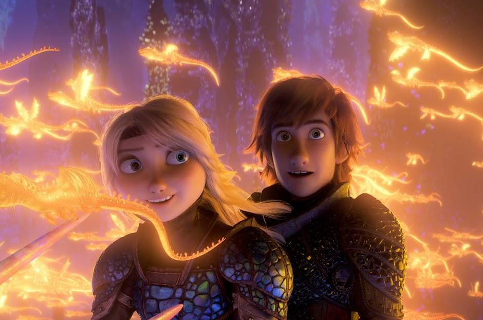 """Viaje para um mundo escondido no trailer de """"Como Treinar o Seu Dragão 3"""""""