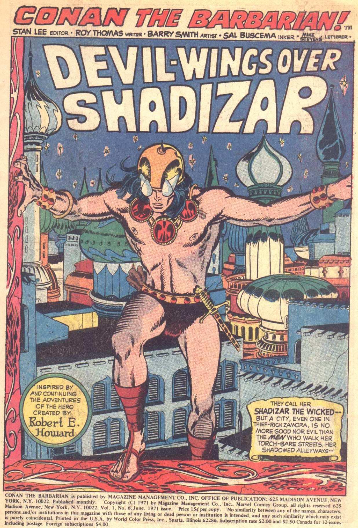 Conan the Barbarian (1970) Issue #6 #18 - English 2
