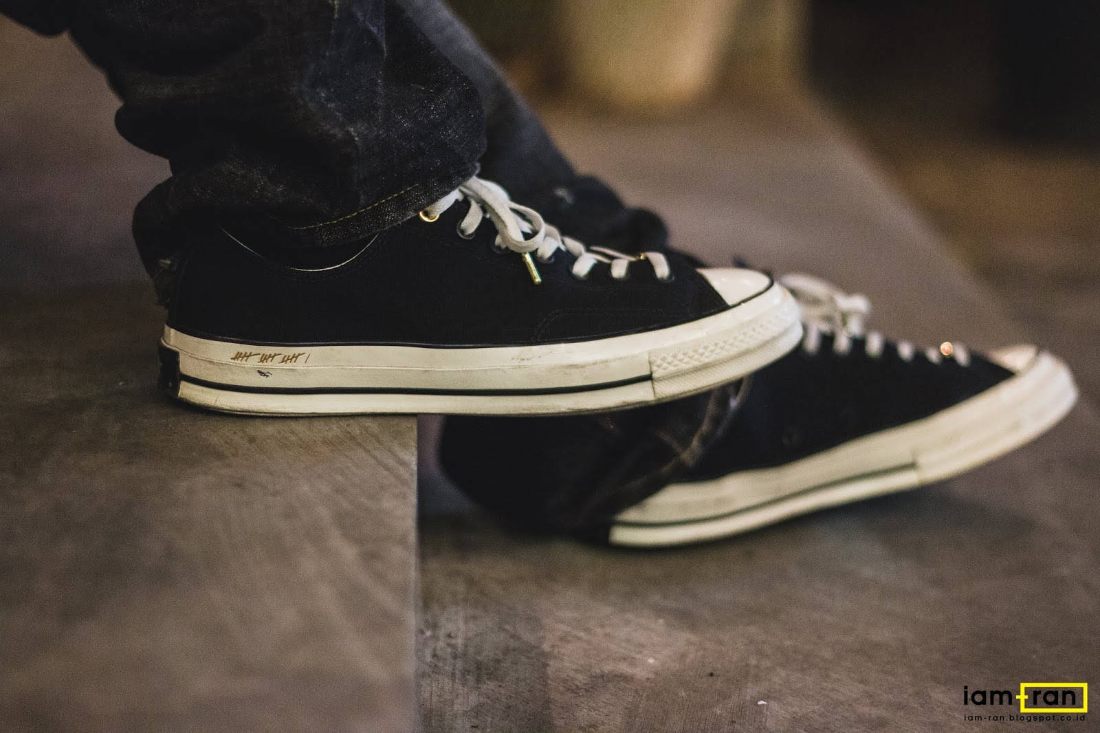 ON FEET   In.Dhika - Converse Chuck 1970S Low Bill Russel