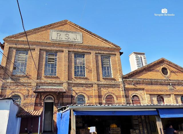 Vista da fachada do Mercado Municipal do Pari - Brás - São Paulo