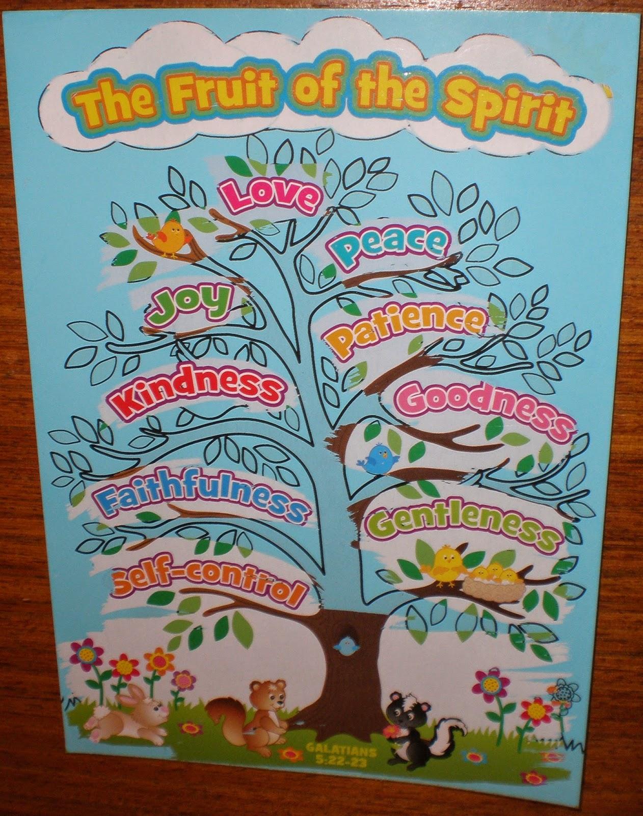 Petersham Bible Book Amp Tract Depot Fruit Of The Spirit