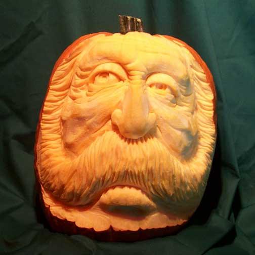 Most Expressive 3d Pumpkin Face Sculptures Ii Spyful