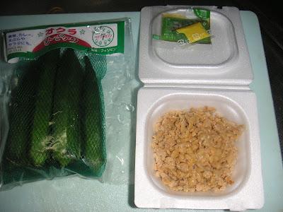 オクラ納豆の材料