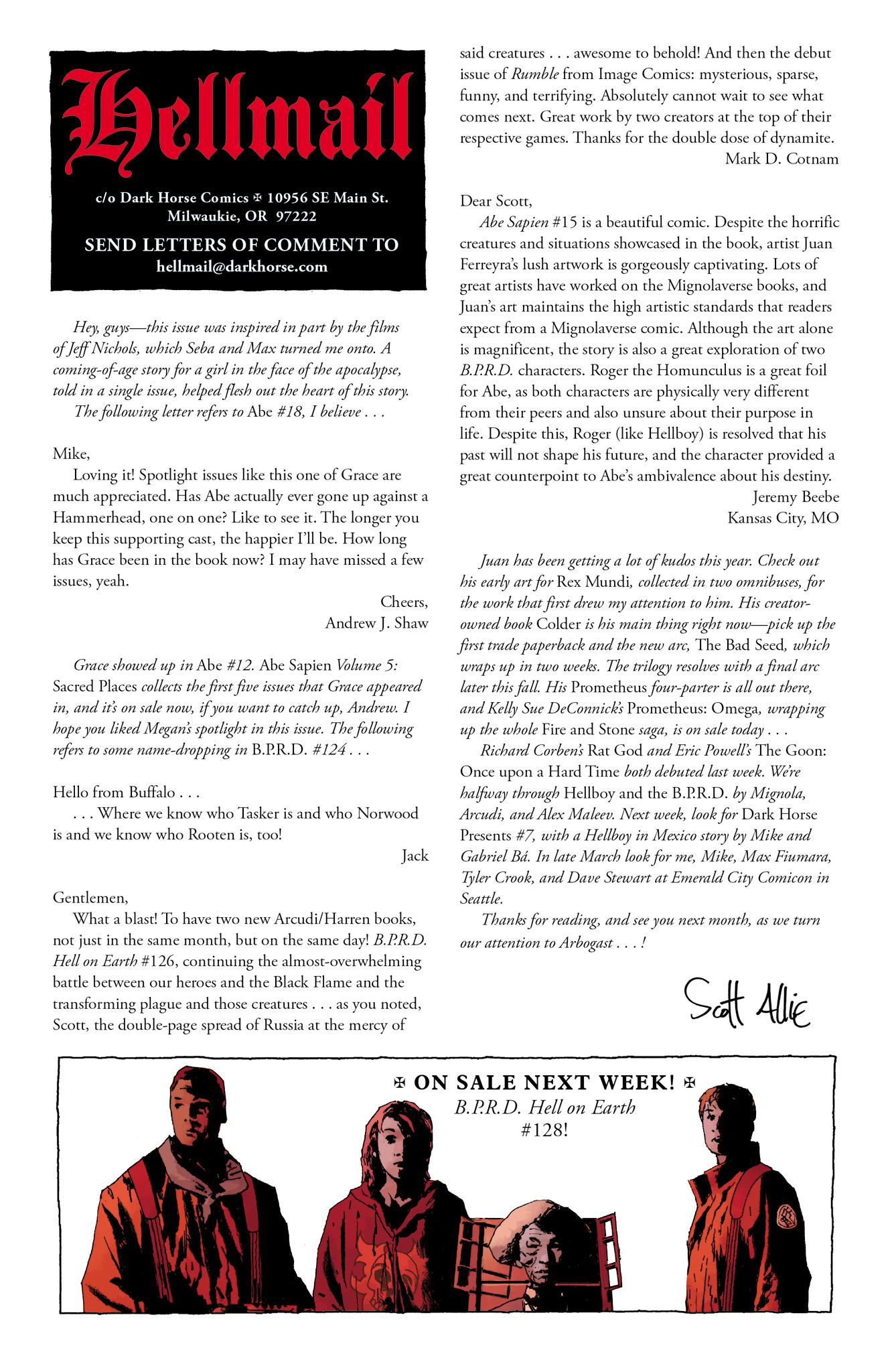 Read online Abe Sapien comic -  Issue #20 - 25