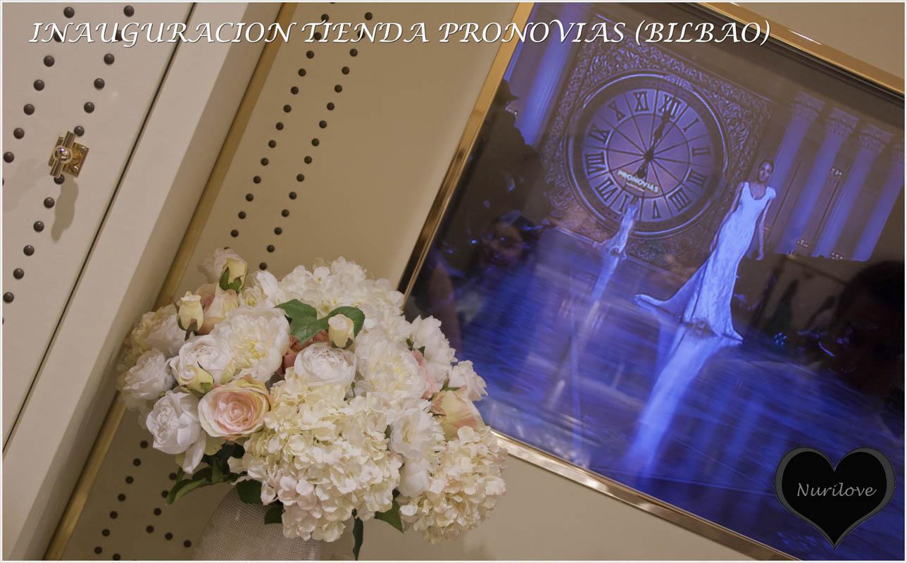 Inauguración de nueva tienda de Pronovias en Bilbao