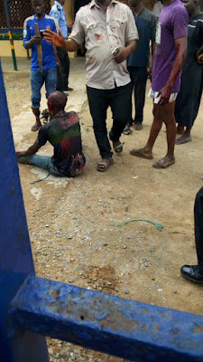 Suspected Badoo Member Arrested After Three People Were Murdered in Ikorodu (Photos)