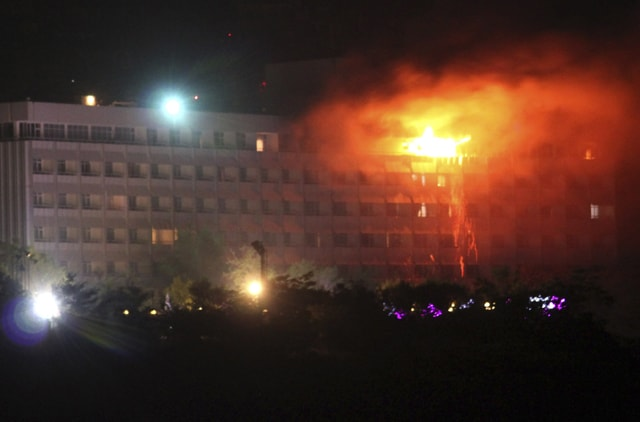 Kabul hotel attack injured five dead, clean the floor of the five-floor terrorists