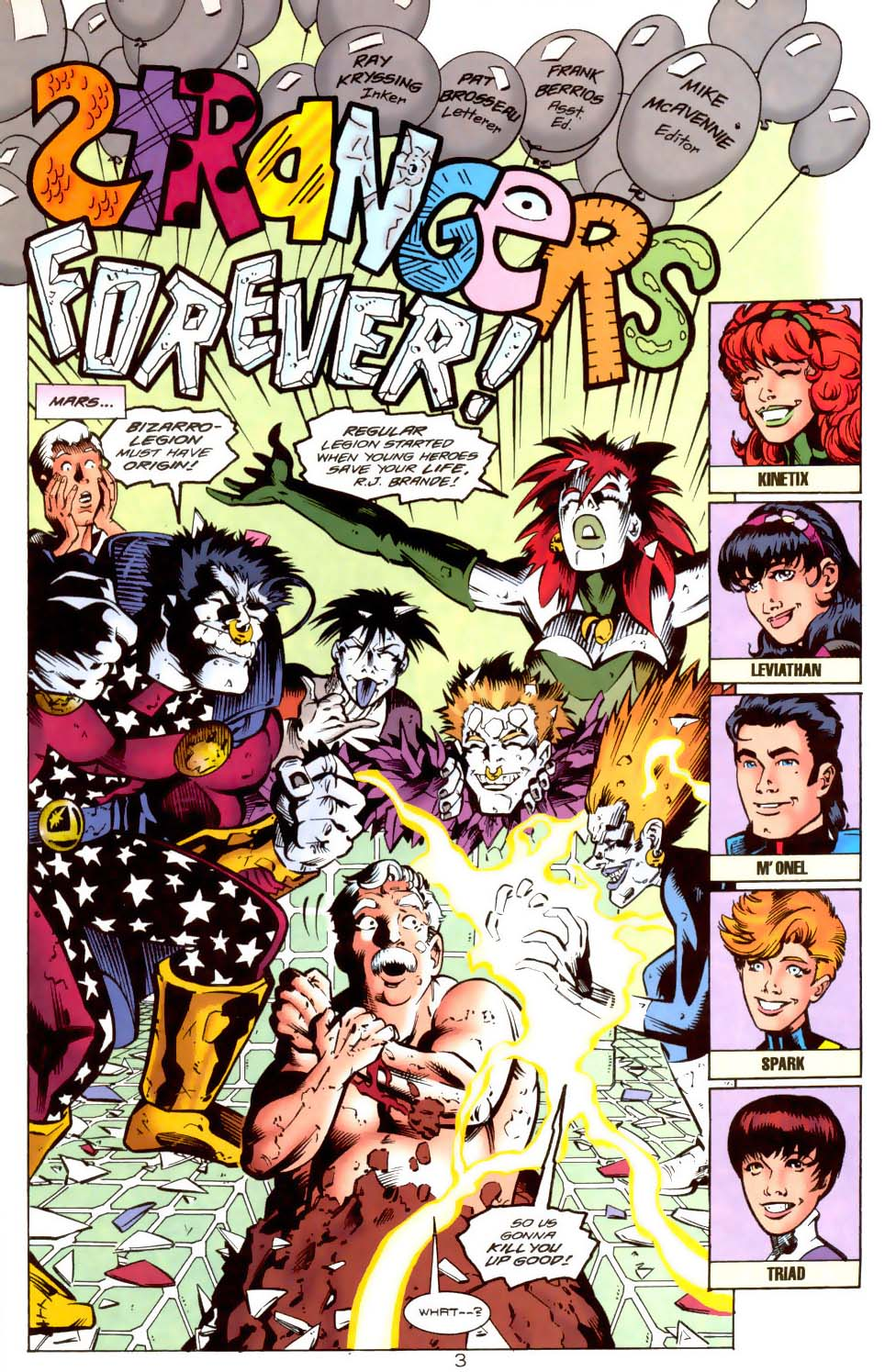 Legion of Super-Heroes (1989) 115 Page 3