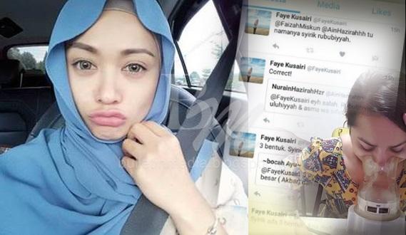 PANAS TELINGA!! ELLY MAZLEIN DAKWA DIBOMOH.. Ini Sindiran Balas FAYE KUSAIRI Yang Korang Tak Sanggup Baca!!!