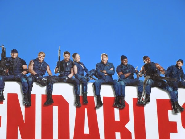 The Expendables 3 special extension billboard