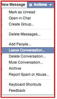 deleting messages on facebook on both sides