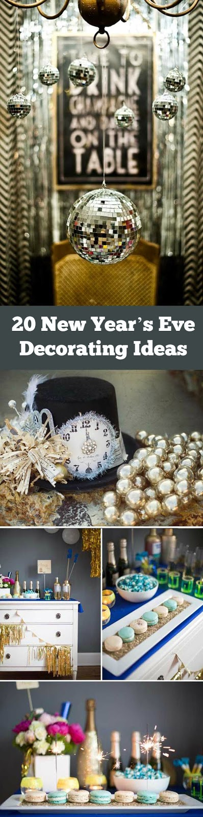 6 New Year's Eve Decorating Ideas