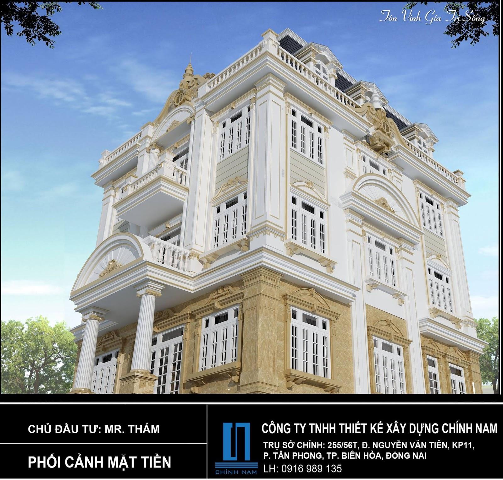 Thiết kế nhà đẹp ở Đồng Nai