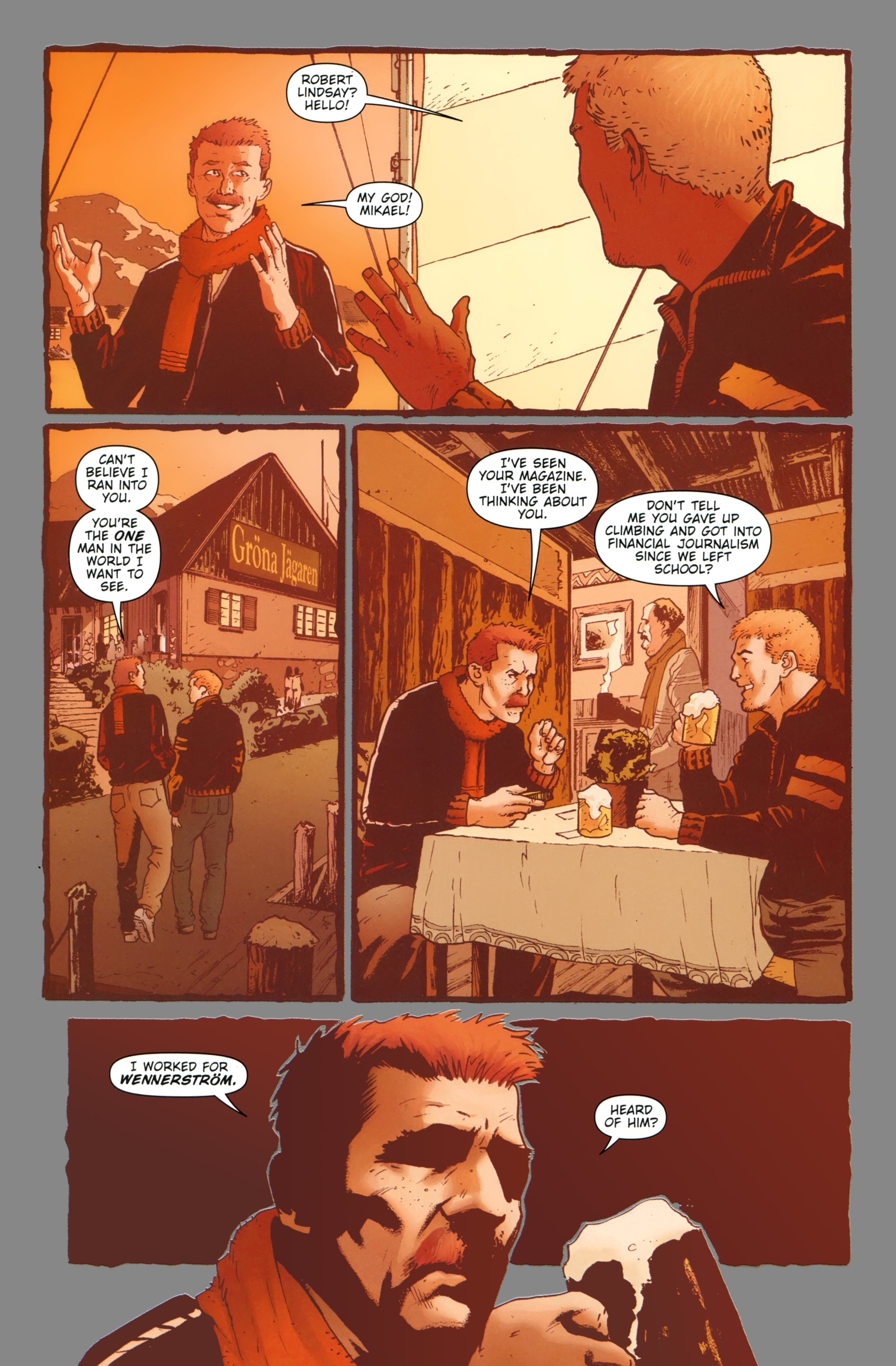 Read online The Girl With the Dragon Tattoo comic -  Issue # TPB 1 - 15