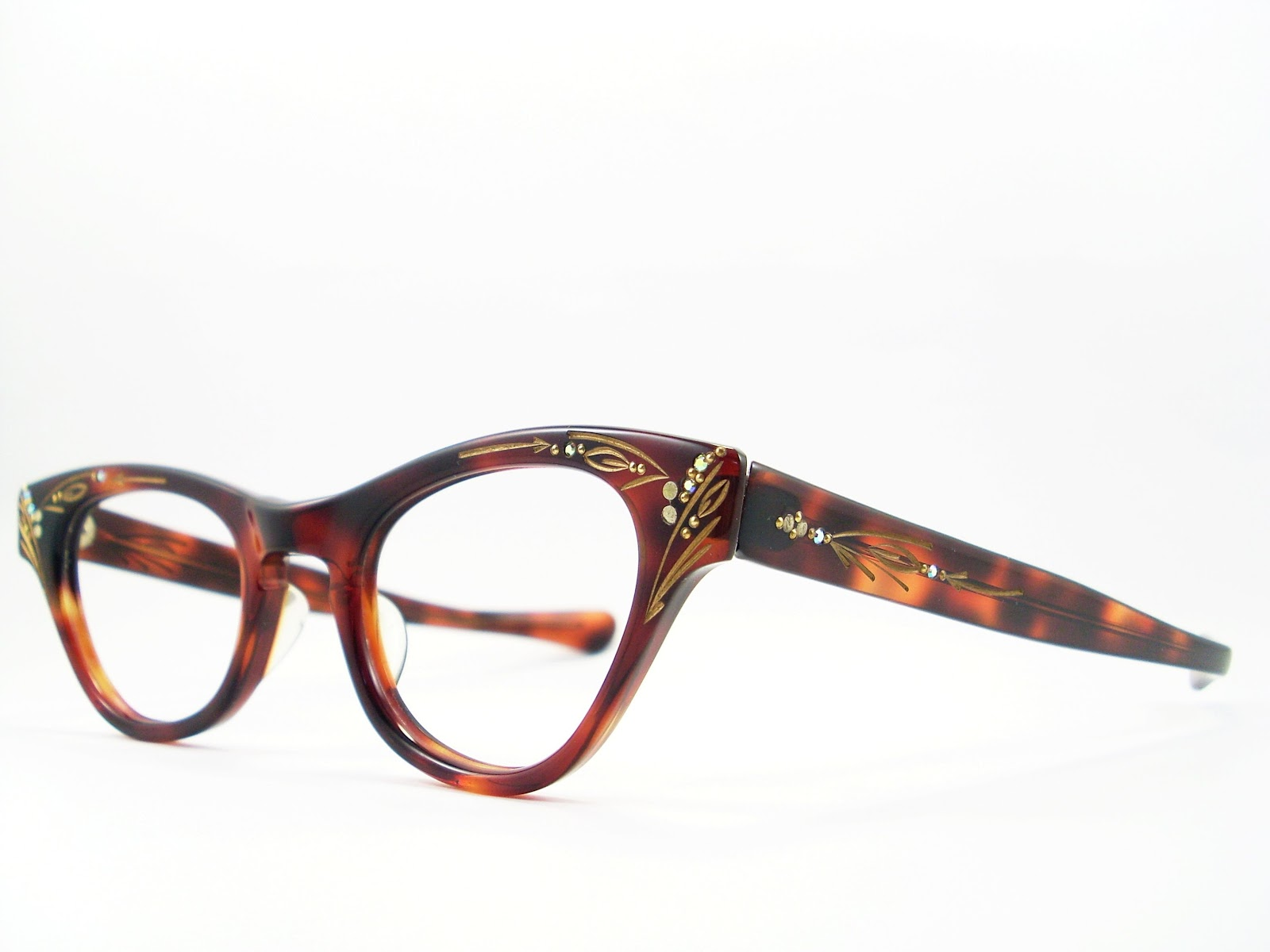 7f76ea39536 50 s Cat Eye Glasses Frames