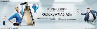 Promo Samsung Galaxy A series 2016 (A3, A5 dan A7)