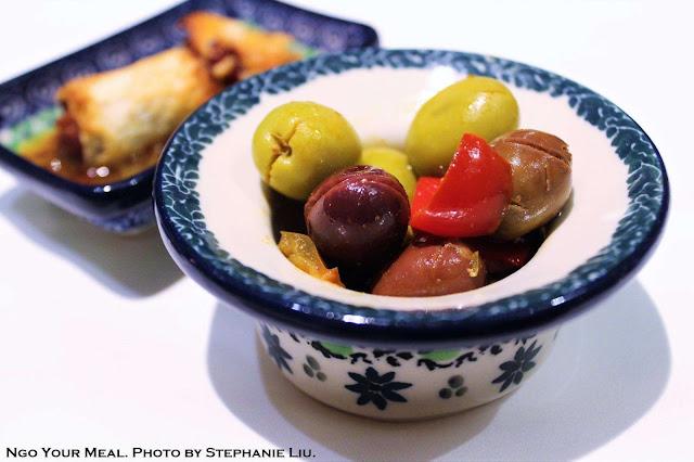 Olives at Igueldo in Barcelona