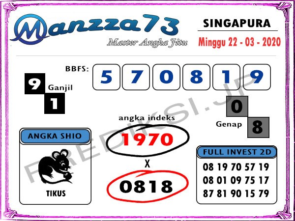 manzza73 singapura