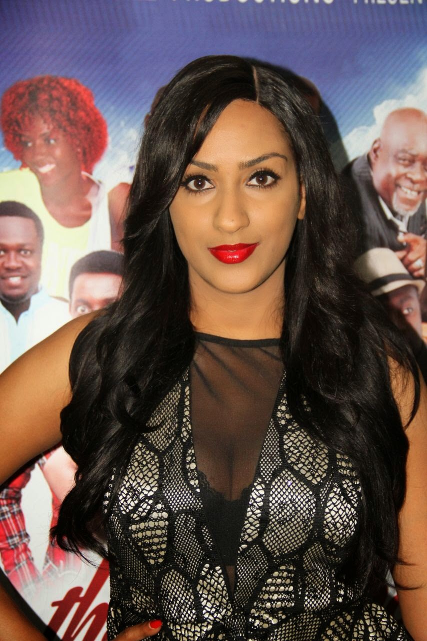 %name Photos from Juliet Ibrahims movie premiere in Lagos