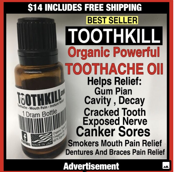 ONLY $14 FREE SHIPPING - BEST INSTANT TOOTHACHE PAIN RELIEF  PRODUCT IN THE WORLD