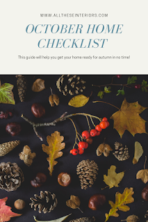 october house checklist