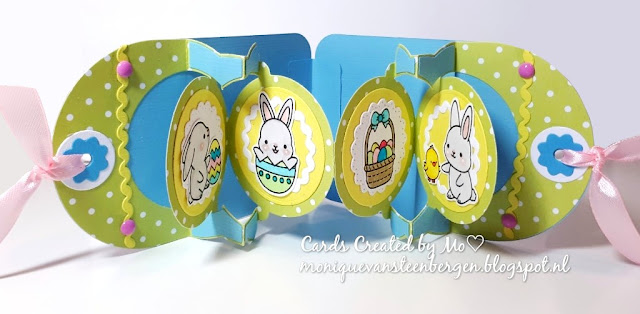 Sunny Studio Stamps: Chubby Bunny Customer Card by Monique Van Steenbergen