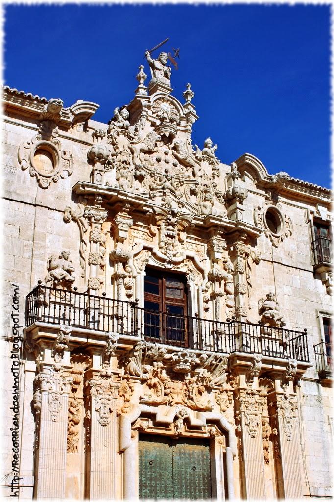 Portada principal, monasterio de Uclés