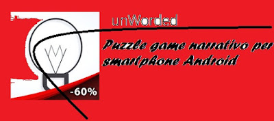 Puzzle game narrativo per smartphone Android: unWorded