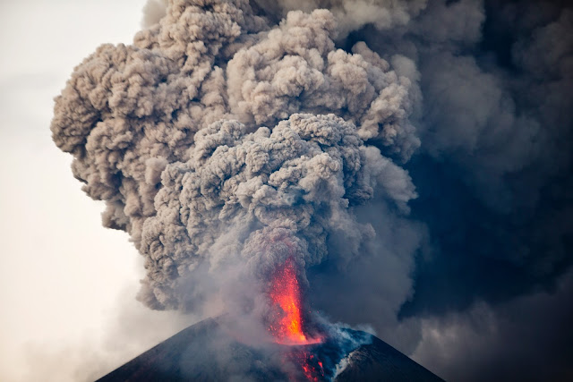 Momotombo Volcano Eruption