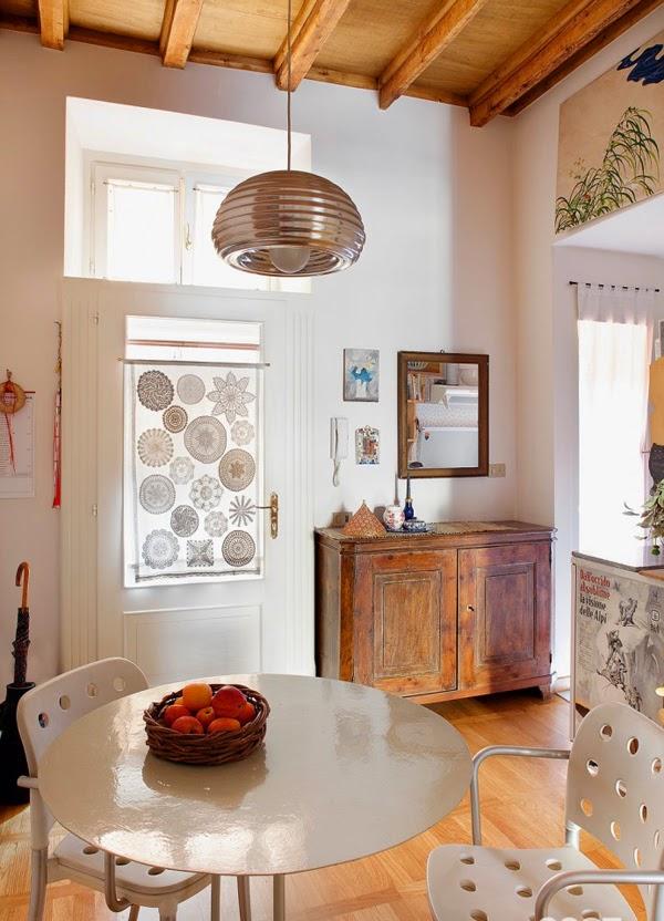 Estilo rustico apartamento rustico de 40 metros cuadrados for Ristrutturare casa di campagna fai da te