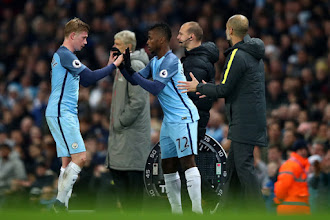 Iheanacho is the best player I've played with - Success