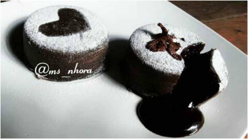 Cara Membuat Steamed Chocolate Lava Cake Tanpa Oven Tanpa Mixer