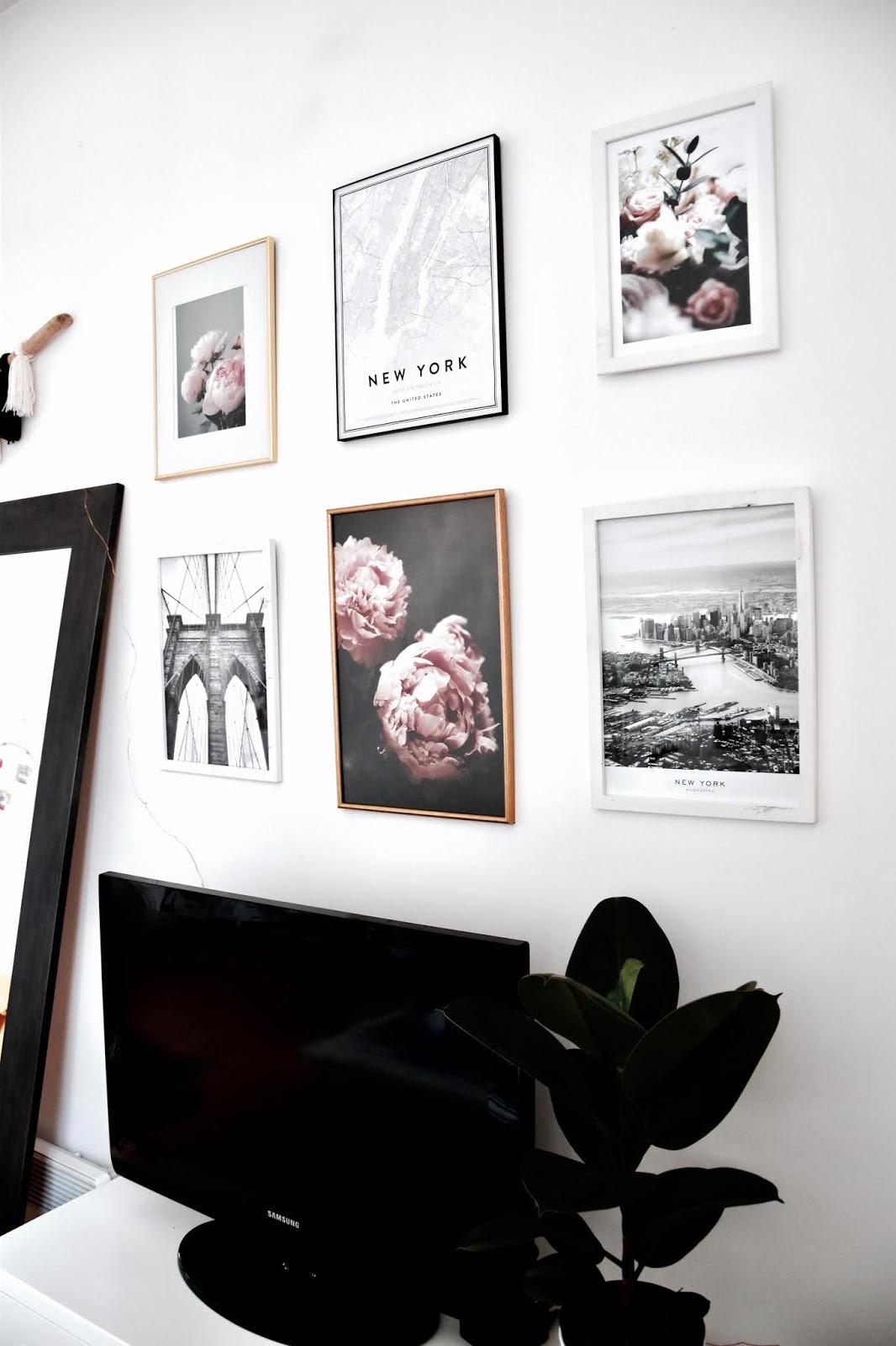 Décoration intérieure : réaliser un mur de cadres