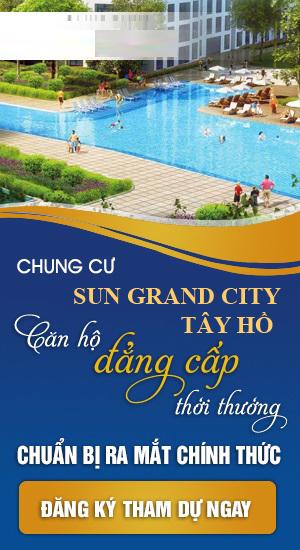 Chung cư Sun grand city 58 Tây Hồ