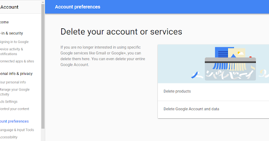 HOW TO EASILY DELETE YOUR GMAIL ACCOUNT