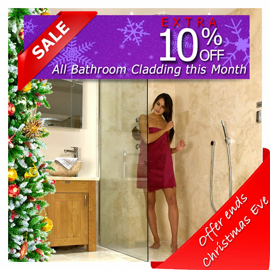 bathroom and Shower Cladding Extra 10% Off Building Plastics Full Range This Month