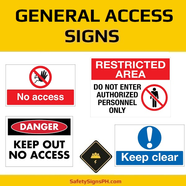 General Access Signs Philippines