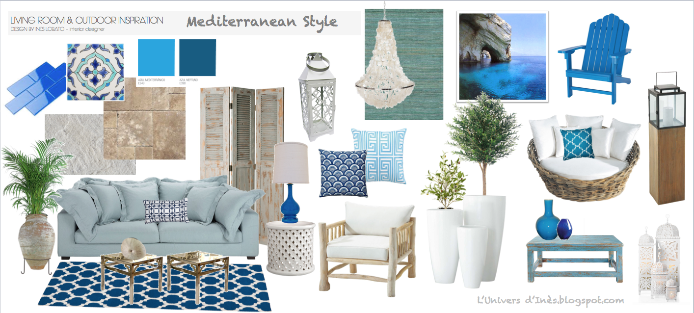 L'Univers D'Inès: Mediterranean Style