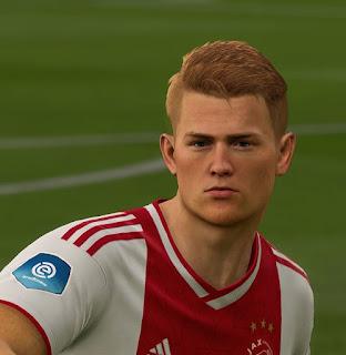 FIFA 19 Faces Matthijs de Ligt by APasZ