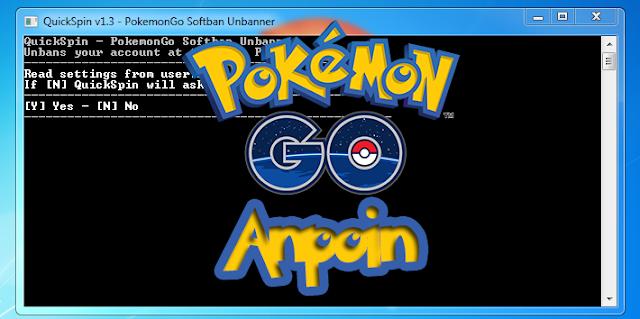Cara Menggunakan QuickSpin, Cara Menggunakan QuickSpin Softband Pokemon GO, Cara Mengatasi Softband Pokemon Go Menggunakan QuickSpin.