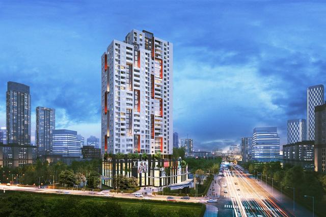 Vị trí chung cư Legend Park - Quận Hà Đông