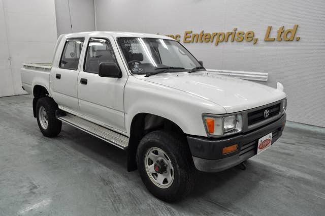 Subaru Diesel Usa >> 19691A4N6 - 1993 Toyota Hilux 0.5ton 4WD Double cab pick ...