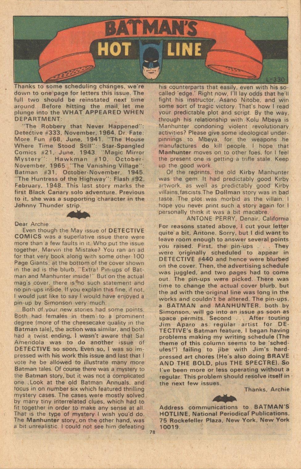 Detective Comics (1937) 442 Page 77