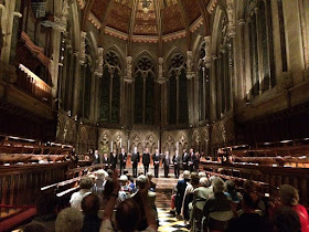 Vox Luminis at St John's College, Cambridge