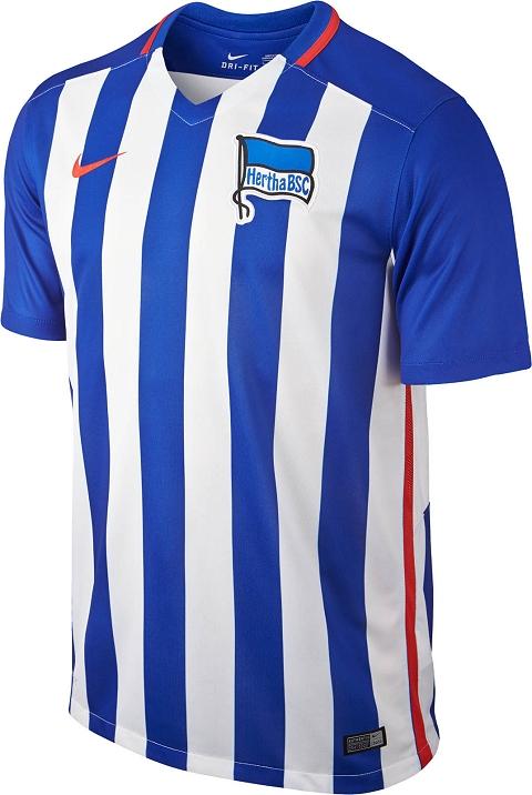 1a6c7469e5 Nike lança as novas camisas do Hertha Berlin - Show de Camisas