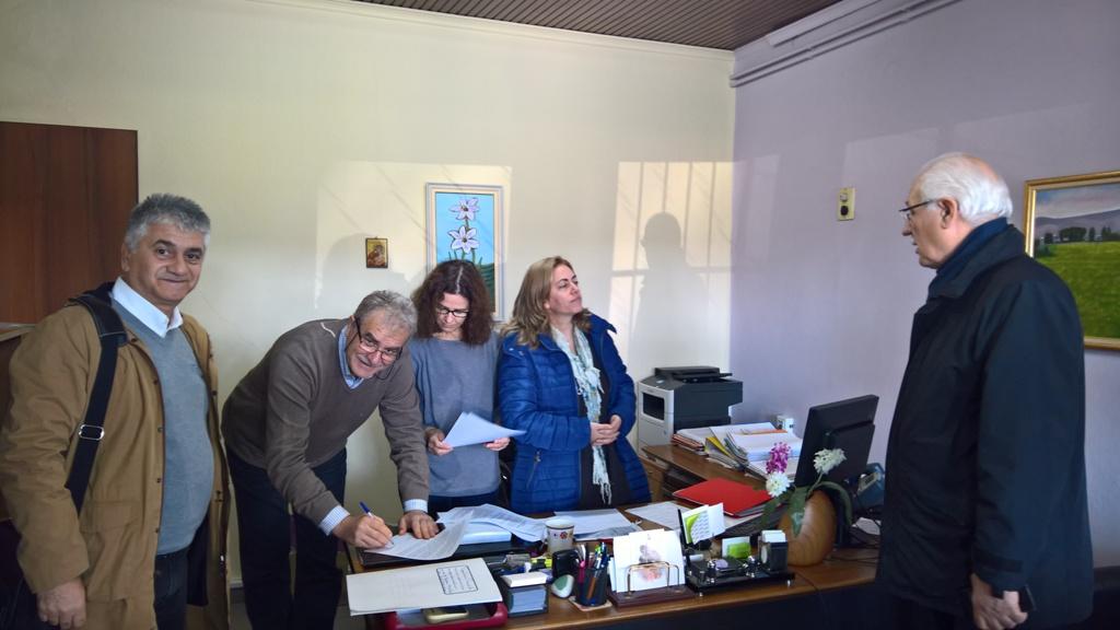 Στον Δήμο Λαρισαίων και τυπικά η έκταση των 217 στρεμμάτων του ΕΘΙΑΓΕ (ΦΩΤΟ)
