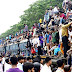 Bangladeshi travellers try to get home for Eid