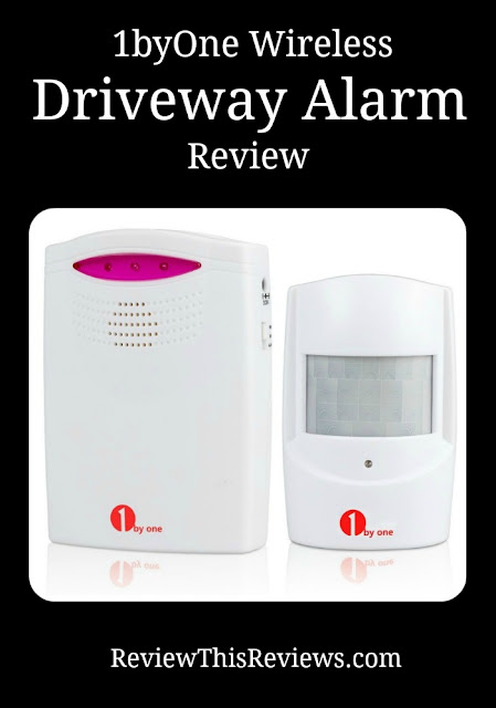 Let me tell you about the 1byone Wireless Driveway Alarm that we own and highly recommend to help keep individuals and families safe.