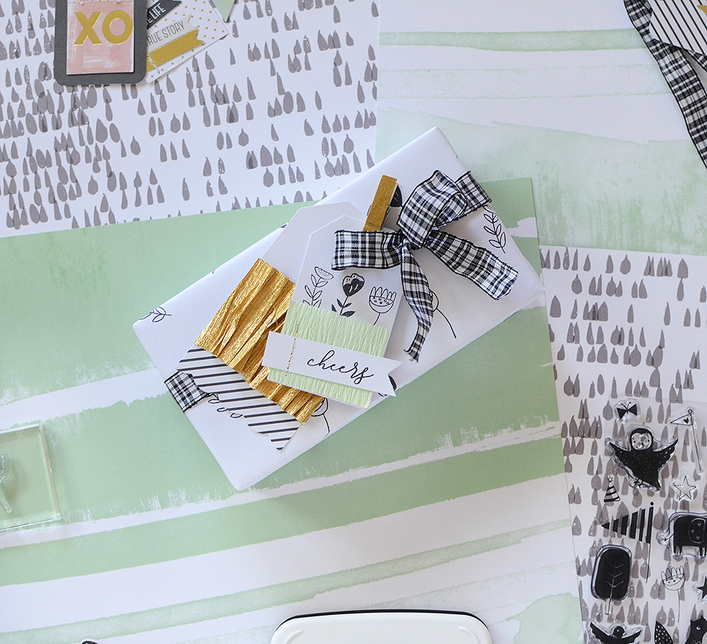 Stamped Wrapping Papers & Coordinates | Rebecca Luminarias ...
